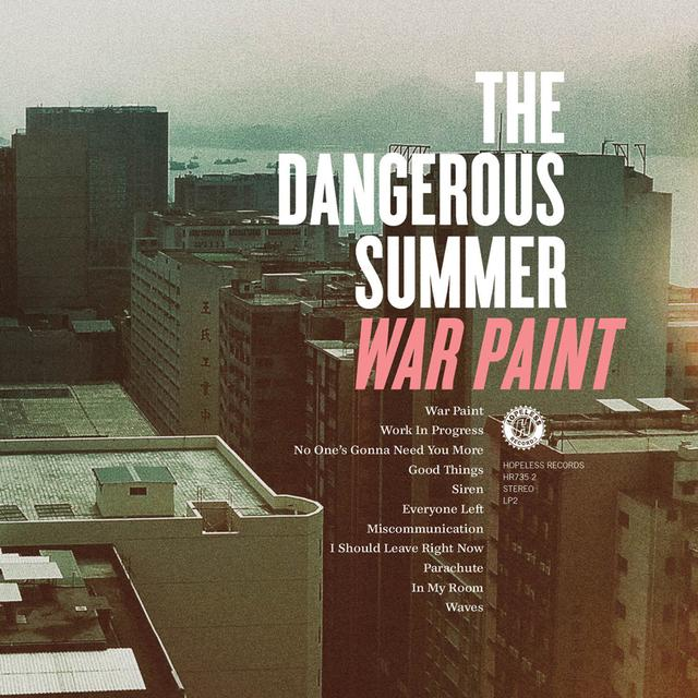 The Dangerous Summer WAR PAINT Vinyl Record