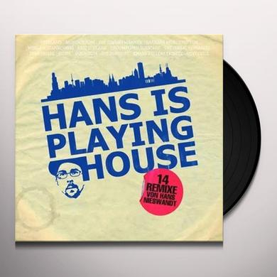 Hans Nieswandt HANS IS PLAYING HOUSE Vinyl Record