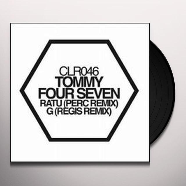 Tommy Four Seven RATU / G REMIXES (EP) Vinyl Record
