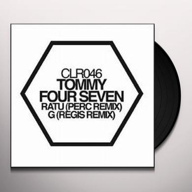 Tommy Four Seven RATU / G REMIXES Vinyl Record
