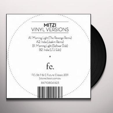 Mitzi VINYL VERSIONS (EP) Vinyl Record