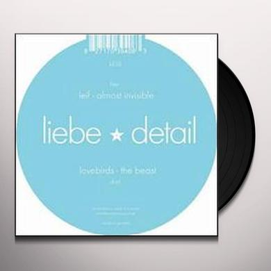 Lovebirds / Leif BEAST /ALMOST INVISIBLE (EP) Vinyl Record