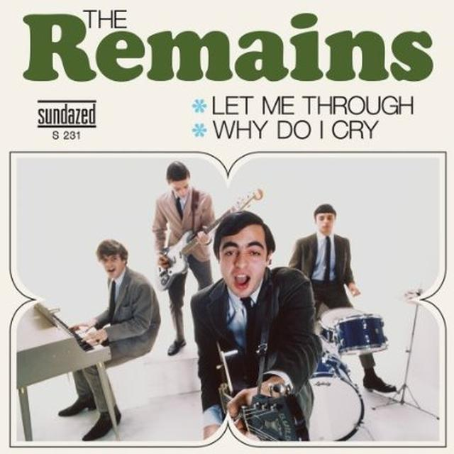 Remains LET ME THROUGH (LIVE) / WHT DO I CRY Vinyl Record