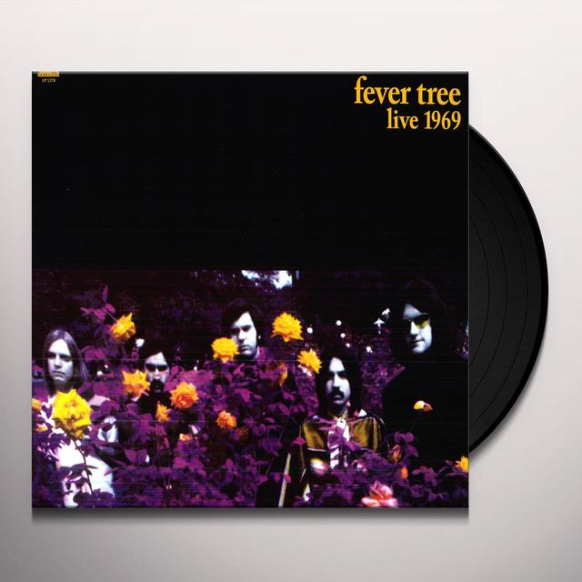 Fever Tree LIVE 1969 Vinyl Record