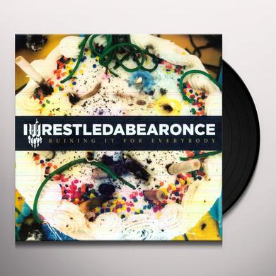 Iwrestledabearonce RUINING IT FOR EVERYBODY Vinyl Record - Limited Edition