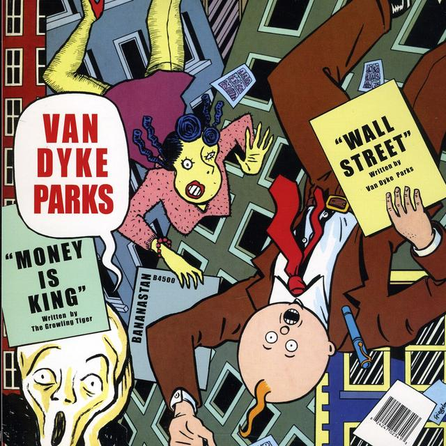 Van Dyke Parks WALL STREET / MONEY IS KING Vinyl Record