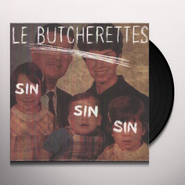 Butcherettes SIN SIN SIN Vinyl Record