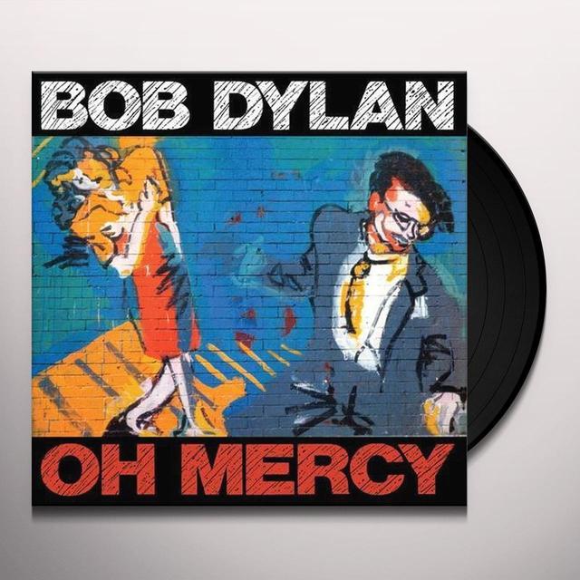 Bob Dylan OH MERCY Vinyl Record - 180 Gram Pressing