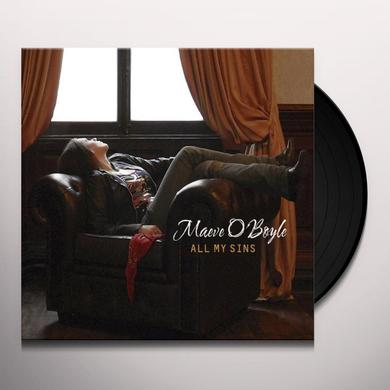 Maeve Oboyle ALL MY SINS Vinyl Record