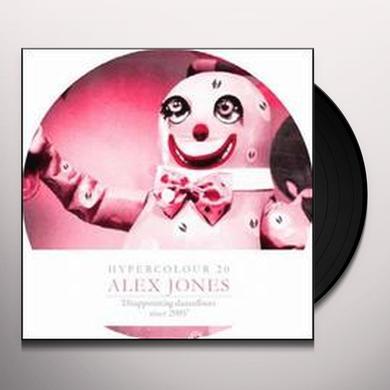 Alex Jones DISAPPOINTING DANCEFLOORS SINCE 2005 (EP) Vinyl Record