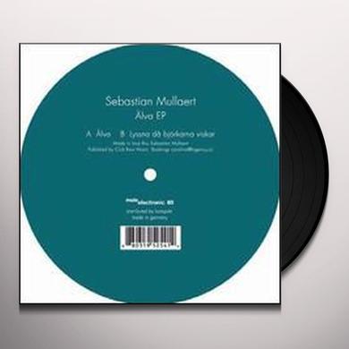 Sebastian Mullaert ALVA (EP) Vinyl Record