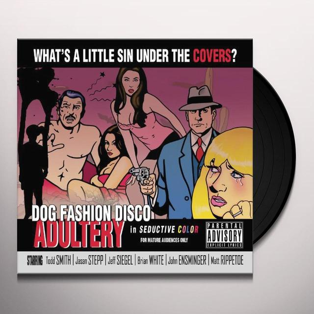 Dog Fashion Disco ADULTERY Vinyl Record