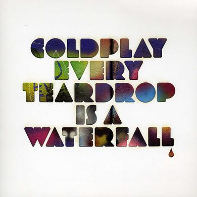 Coldplay EVERY TEARDROP IS A WATERFALL Vinyl Record