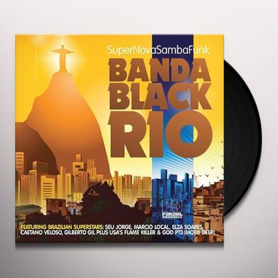 Banda Black Rio SUPER NOVA SAMBA FUNK Vinyl Record