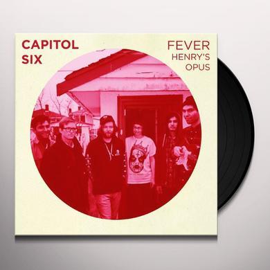 Capital Six CAPTAIN REHAB (EP) Vinyl Record