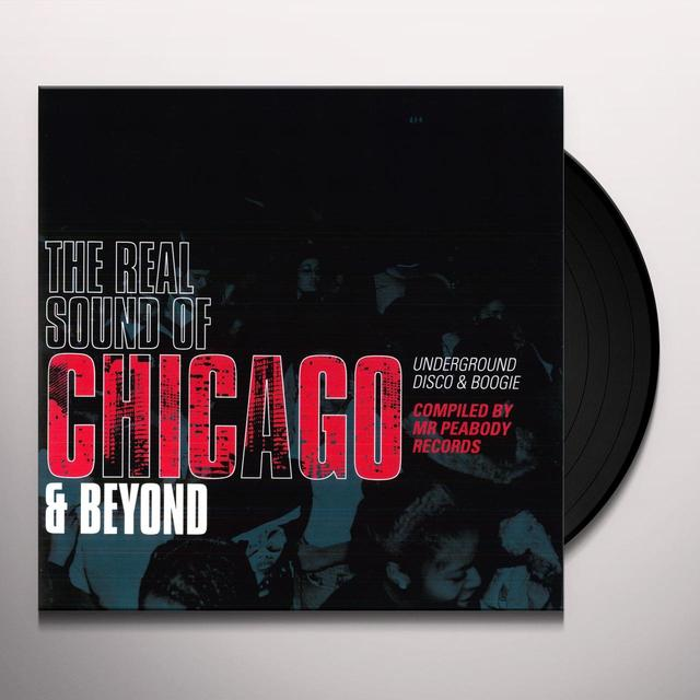 REAL SOUND OF CHICAGO & BEYOND UNDERGROUND / VAR Vinyl Record