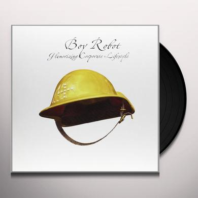 Boy Robot GLAMORIZING CORPORATE LIFESTYLE Vinyl Record