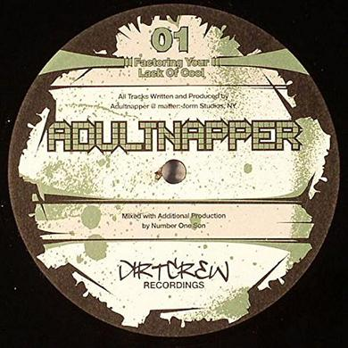 Adultnapper FACTORING YOUR LACK OF COOL Vinyl Record