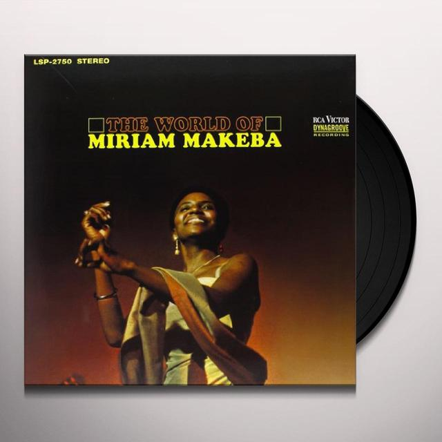 WORLD OF MIRIAM MAKEBA Vinyl Record - 180 Gram Pressing
