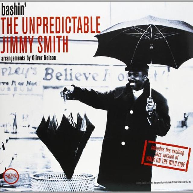 BASHIN: THE UNPREDICTABLE JIMMY SMITH Vinyl Record - 180 Gram Pressing