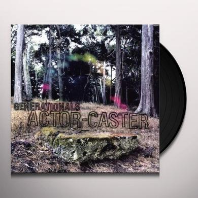 Generationals ACTOR-CASTER Vinyl Record