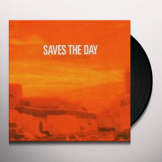 Saves The Day SOUND THE ALARM Vinyl Record