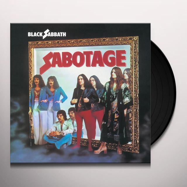 Black Sabbath SABOTAGE Vinyl Record - 180 Gram Pressing