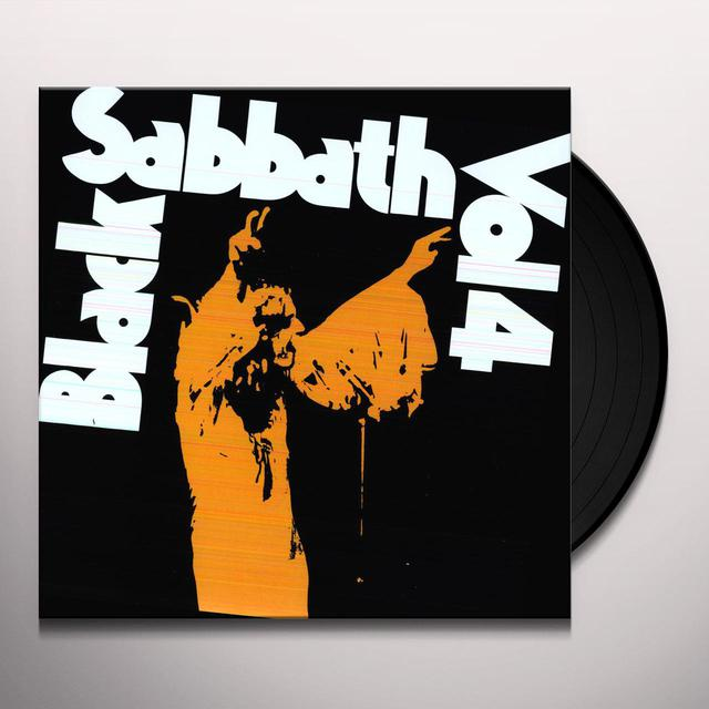 Black Sabbath VOLUME 4 Vinyl Record - 180 Gram Pressing