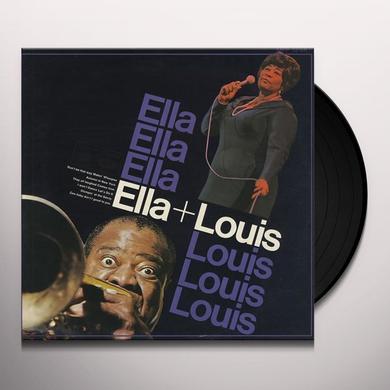 Ella Fitzgerald & Louis Armstrong  ELLA & LOUIS Vinyl Record - 200 Gram Edition