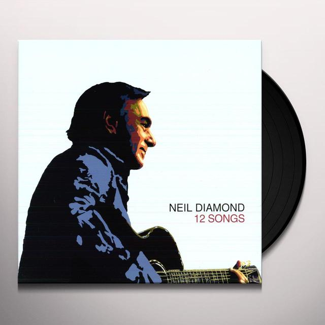Neil Diamond 12 SONGS Vinyl Record - Holland Import