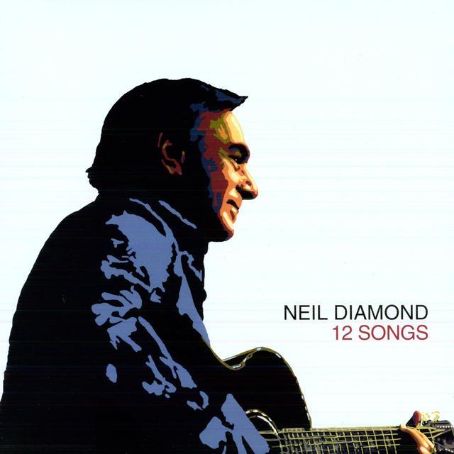 Neil Diamond 12 SONGS Vinyl Record - Holland Import