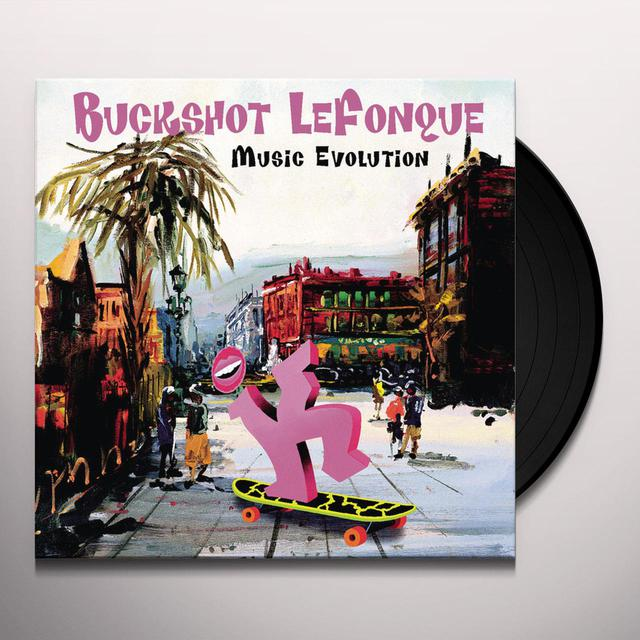 Buckshot Lefonque MUSIC EVOLUTION Vinyl Record