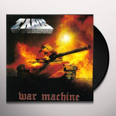 Tank WAR MACHINE Vinyl Record