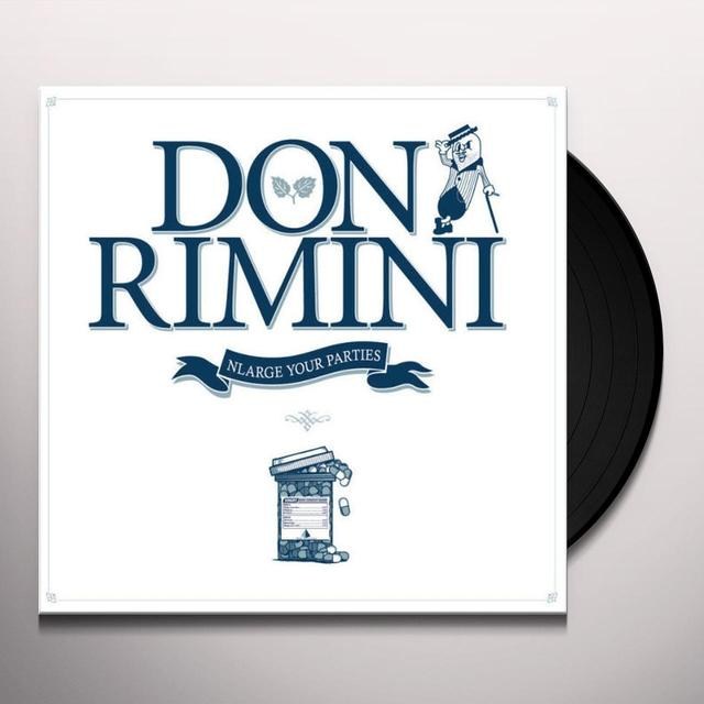 Don Rimini NLARGE YOUR PARTIES Vinyl Record