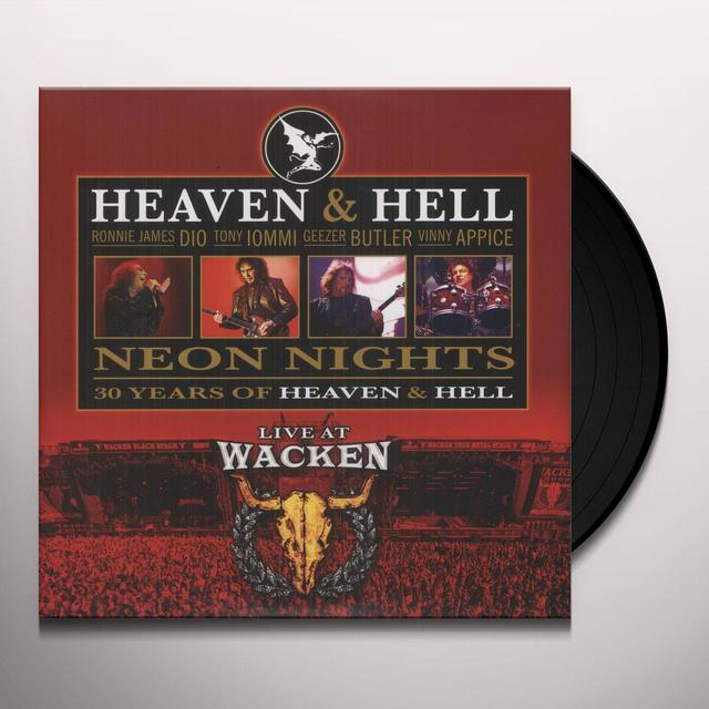 Heaven & Hell NEON NIGHTS: LIVE AT WACKEN Vinyl Record