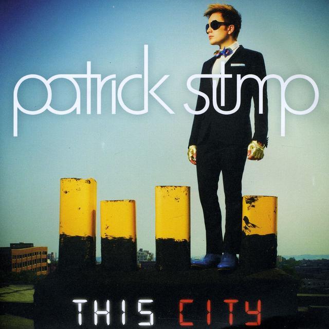 Patrick Stump THIS CITY / SATURDAY NIGHT AGAIN Vinyl Record