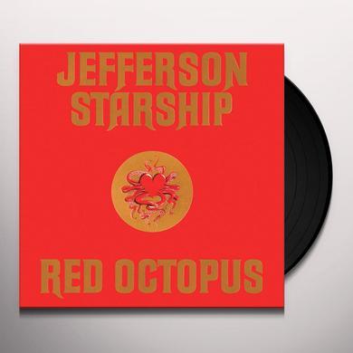 Jefferson Starhsip RED OCTOPUS Vinyl Record - Limited Edition, 180 Gram Pressing
