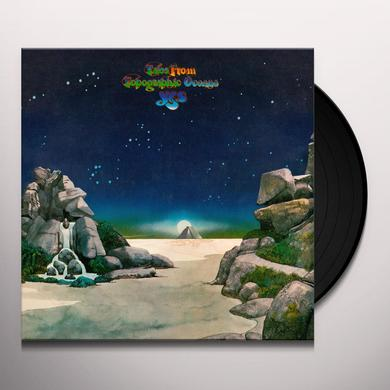 Yes TALES FROM TOPOGRAPHIC OCEANS Vinyl Record - Limited Edition, 180 Gram Pressing