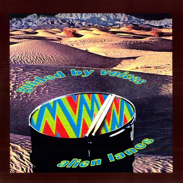 Guided By Voices ALIEN LANES Vinyl Record