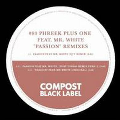 Phreek Plus One PASSION Vinyl Record