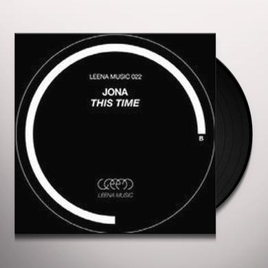 Jona THIS TIME Vinyl Record