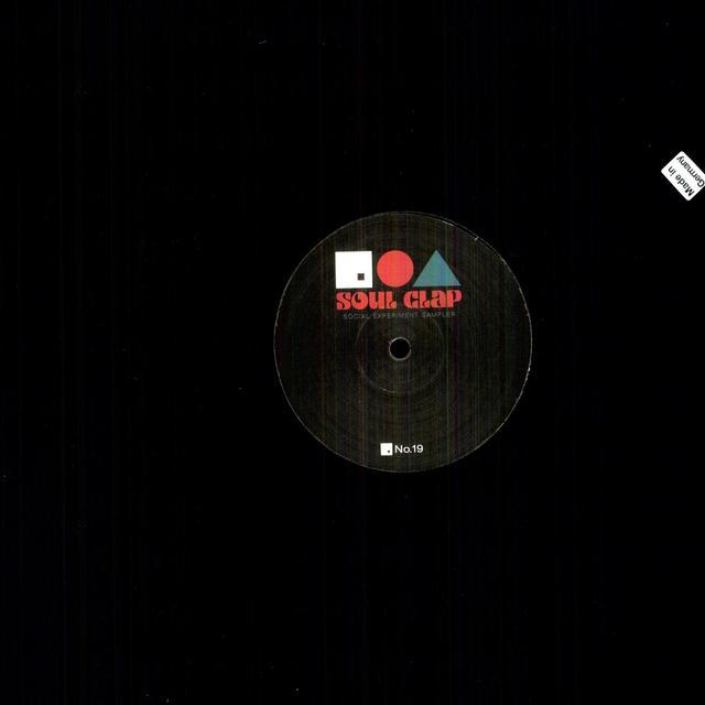 Soul Clap SOCIAL EXPERIMENT SAMPLER (EP) Vinyl Record