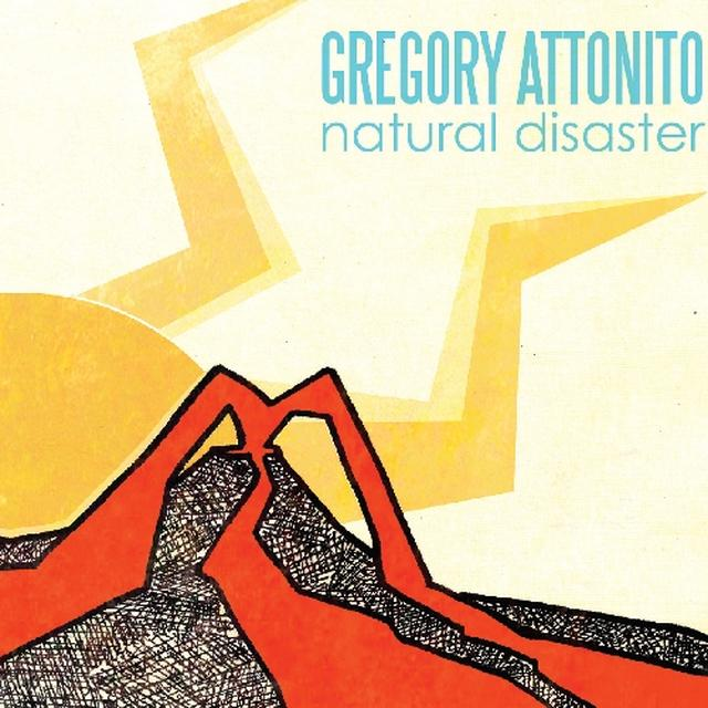 Gregory Attonito NATURAL DISASTER Vinyl Record - Colored Vinyl, Digital Download Included