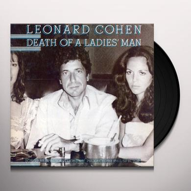 Leonard Cohen DEATH OF A LADIES MAN Vinyl Record