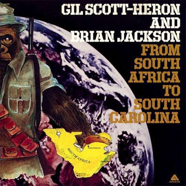 Gil Scott-Heron FROM SOUTH AFRICA TO SOUTH CAROLINA Vinyl Record - 180 Gram Pressing