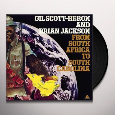 Gil Scott-Heron FROM SOUTH AFRICA TO SOUTH CAROLINA Vinyl Record