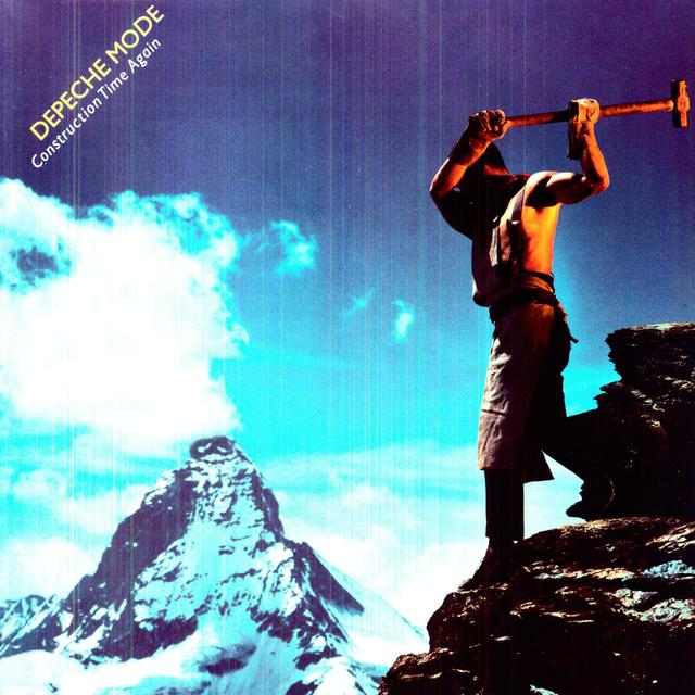Depeche Mode CONSTRUCTION TIME AGAIN Vinyl Record
