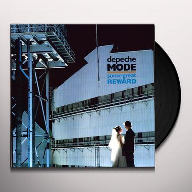 Depeche Mode SOME GREAT REWARD Vinyl Record - 180 Gram Pressing
