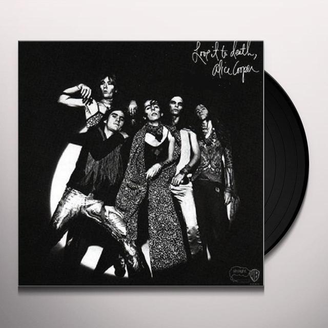 Alice Cooper LOVE IT TO DEATH Vinyl Record