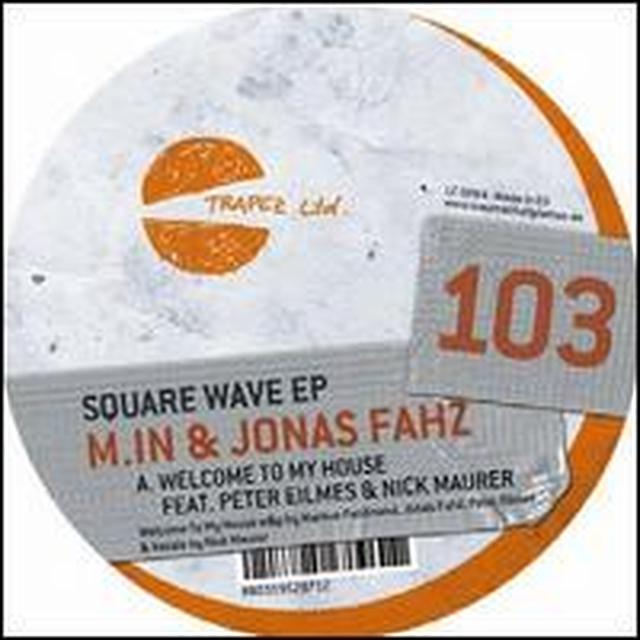 M.In & Jonas Fahz SQUARE WAVE Vinyl Record